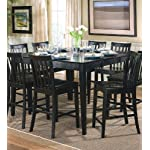 Coaster Home Furnishings Casual Counter Height Table, Black