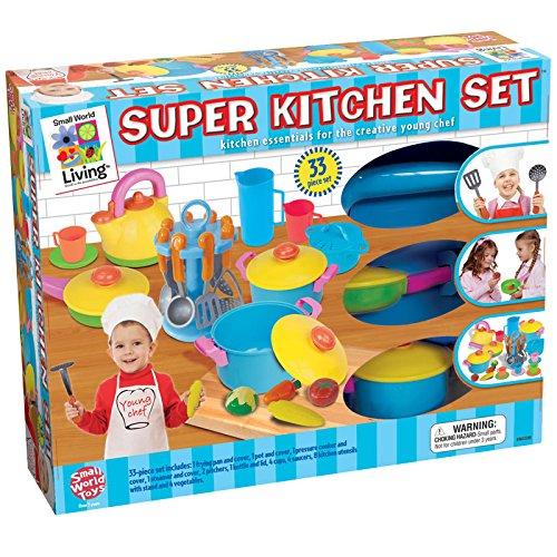 Kitchen Set Node Attributes: Young Chef's Super Kitchen