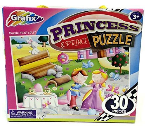 Grafix Princess and Prince Puzzle- 30 Pieces - 1