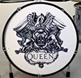 RGM328 Queen Emblem Miniature Drum Kit Rock Guitar Miniatures Freddy Mercury Brian May John Deacon Roger Taylor Bohemian Rapsody A Night At The Opera Killer Queen We Are The Chamipons Show Must Go On