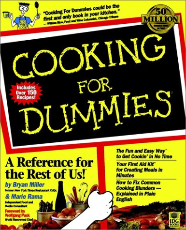 Cooking For Dummies (For Dummies Series), Alison Yates, Bryan Miller