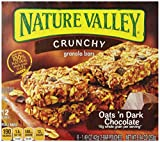 Nature Valley Oats n Dark Chocolate Granola Bar, 8.94-Ounce, (Pack of 6)