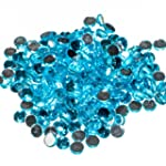 Pack of 1000 x Aquamarine Crystal Fla...