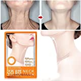 Iusun Neck Mask, Whitening Neck Lift Skin Care Pad Masks For Moisturizing, Anti-Wrinkle, Anti-Aging, Eliminate And Prevent Neck Wrinkles (1PC) (Color: 1PC, Tamaño: A)