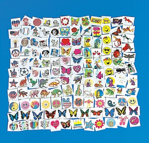 300-Piece-Lot-of-Assorted-Kids-Temporary-Tattoos-Z1034