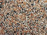 Natursteinteppich-Fliese Classic Line Melange - flexible Bodenfliese für Innen und