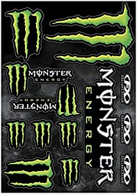 Factory Effex 17-68020 Monster Sticker Kit