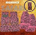 9pc Safari Pink Zebra Print Car Floor Mats, High Back Seat Covers, Steering Wheel Cover & Shoulder Pad Set