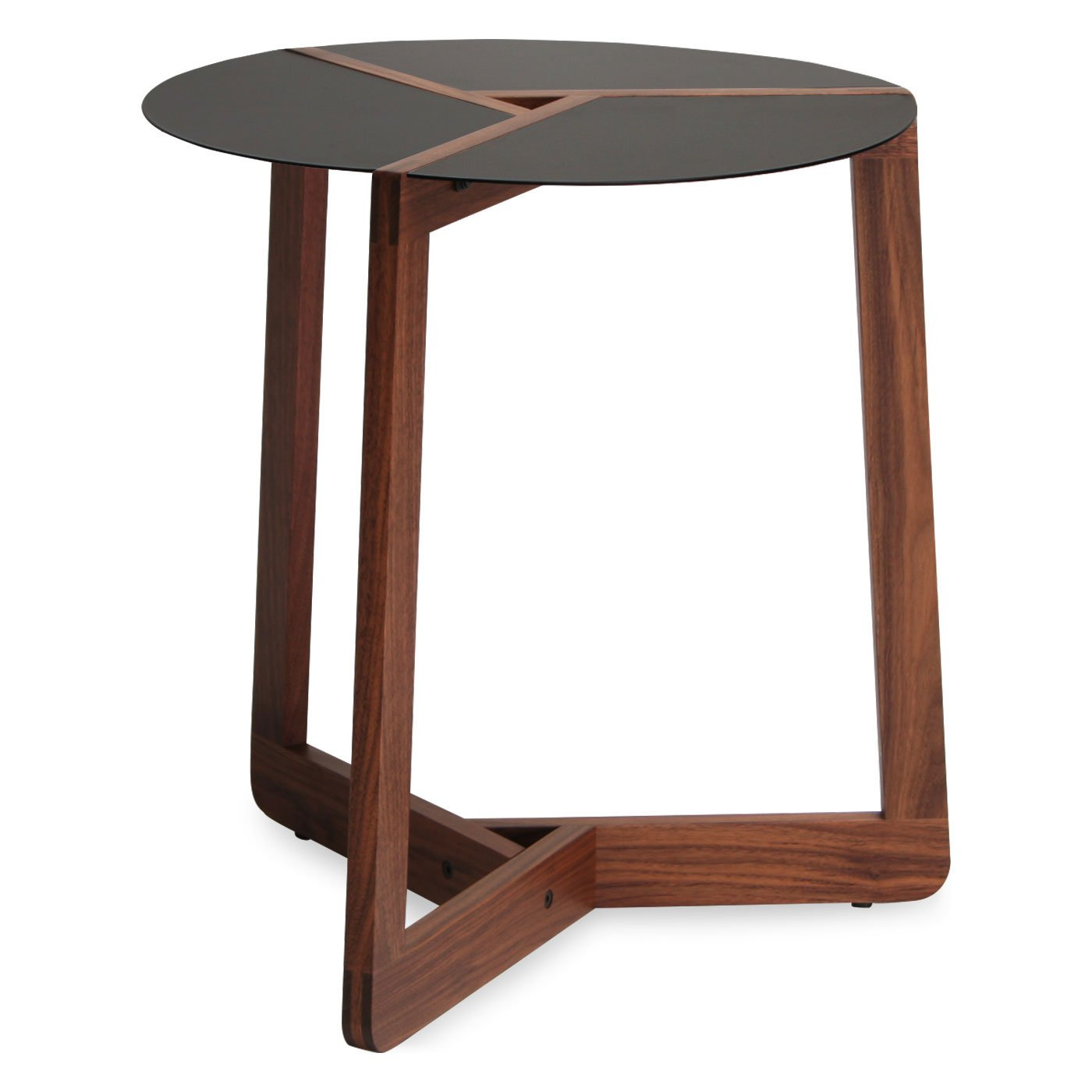Blu Dot Pi Large Side Table Walnut Furniturendecor Com