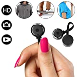 Hidden Camera, Spy mini Cameras,HD 720P Smallest Nanny Cam Portable Video Recorder with Motion Detective Perfect Outdoor Covert Pocket Camcorder for Home surveillance (Color: black)