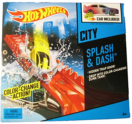 Hot Wheels - HW City Color Shifters - Splash & Dash Set