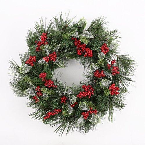 corona-de-navidad-frutas-rojas-y-pinos-corona-decorativa-de-navidad-4314cm
