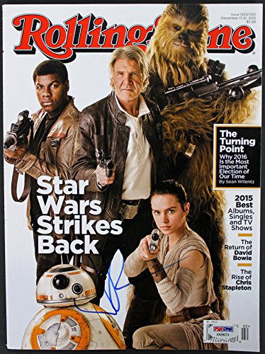 J.J. Abrams Star Wars Authentic Signed Rolling Stone Magazine PSA/DNA #AA84074