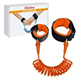 Anti Lost Wrist Link Safety Wrist Link for Toddlers, Babies & Kids by Blisstime (Orange)