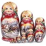Winter Troika Nesting Dolls Set of 10...