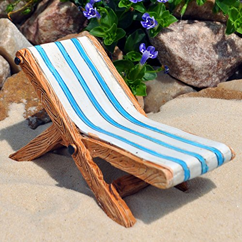 Miniature Fairy Garden Beach Lounge Chair