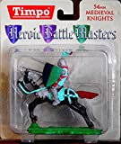 Timpo 43106 Heroic Battle Masters - 54mm Medieval Mounted Knight - Factory Painted