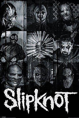 Empire, Poster degli Slipknot, Bianco/Nero (Bunt), 61 x 91,5 cm