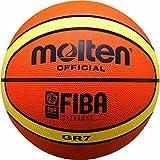 Molten Ballon de basket d' entraînement nouveau design 1 ORANGE/CREME...