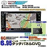TOYOTA専用モデル7インチタッチパネルDVDプレーヤー/8Gカーナビ内蔵/iPod接続/CPRM+2×2フルセグチューナーセット