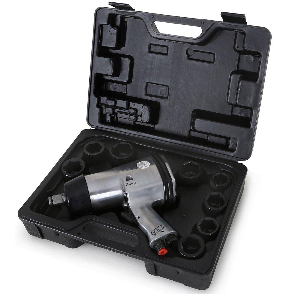 EBERTH 3/4 Druckluft Schlagschrauber 13teiliges SET mit 678 Nm Drehmoment  BaumarktÜberprüfung und weitere Informationen