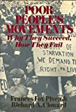 Poor People's Movements: Why They Succeed, How They Fail (0394488407) by Frances Fox Piven