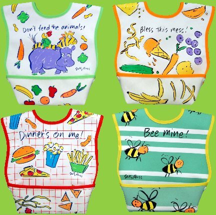 Dex Dura Bib Large for ages 6 - 24 Months - Bless This Mess - 1