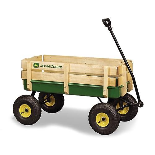 Ertl John Deere Steel Stake Wagon Green