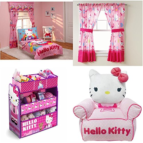 Toddler Bedding Collection Set (Hello Kitty)