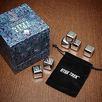 Star Trek 「ボーグ・キューブ」 溶けない氷 専用ポーチ付 - Borg Cube Whiskey Chillers (並行輸入)