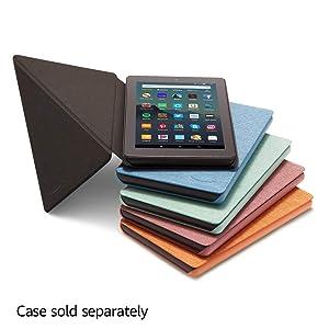 Fire 7 Tablet (7 display, 32 GB) - Sage + Amazon Standing Case (Sage) (Color: Sage)