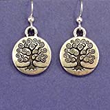 Tree of Life Charm Earrings