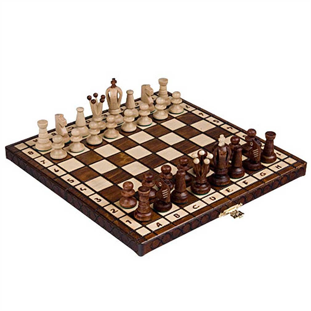 Chess Royal 30 European Wooden Handmade International Set, 11.81 x 1.97-Inch 1
