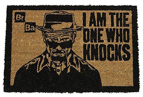 Breaking Bad-I Am The One Who Knocks-Zerbino, misura: 60x 40cm, materiale polipropilene