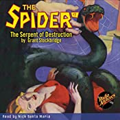 Spider #7 April 1934: The Spider | Grant Stockbridge,  RadioArchives.com