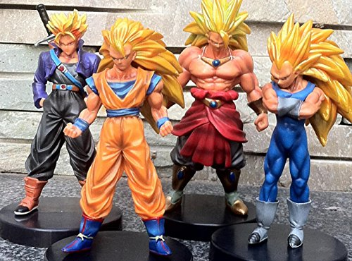 4pcs/ (Dragon Ball Z Trunks Costume)