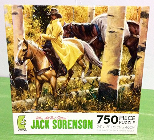 Ceaco Jack Sorenson When All That Glitters 750 Piece Jigsaw Puzzle