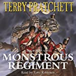 Monstrous Regiment: Discworld, Book 31 (       ABRIDGED) by Terry Pratchett Narrated by Tony Robinson