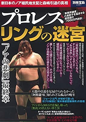 プロレス リングの迷宮 (別冊宝島 2341)