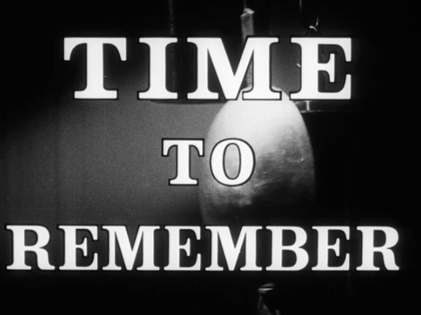 Time to Remember on Amazon Prime Video UK
