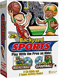 Backyard Sports - Backyard Basketball and Backyard Football - PC