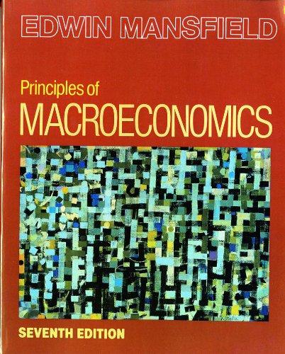 Principles of Macroeconomics (Seventh Edition)