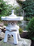 Figur japanische laterne h 47 cm gartendeko aus beton garten - Asiatische gartendeko ...