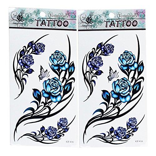 2-x-temporales-tatuajes-tattoo-impermeable-forma-de-mariposa-flor-pegatina-arte-corporal