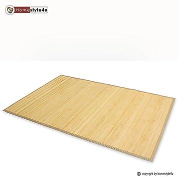 Tapis en bambou paillasson paillasson plancher de tapis - Tapis bambou x ...