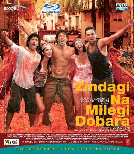 Cover art for  Zindagi Na Milegi Dobara (Bollywood Blu Ray With English Subtitles) [Blu-ray]