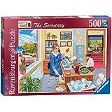 Ravensburger Happy Days at Work No. 8 - The Secretary, 500pc Jigsaw Puzzle