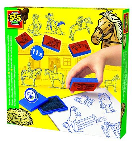 ses-creative-14912-set-di-timbri-e-tamponi-tema-cavalli