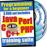 Programming Training for a Beginner in Java, C, C++, Perl and PHP, 3 DVDs of Complete Courseware and Linux Tools, ed.2011