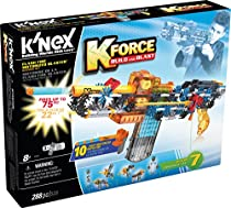 K'NEX K-Force - Flash Fire Motorized Blaster Building Set - 288 Pieces - For Ages 8+ Engineering Education Toy